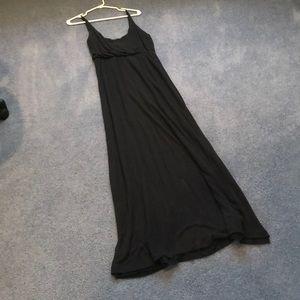 Patterson J. Kincaid gray knit maxi dress